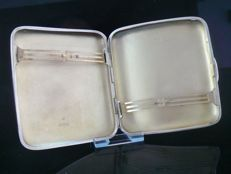 Silver Cigarette Case, Chester 1905, Colen Hewer Cheshire