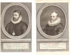 15 portraits of Regents, 17th + 18th century