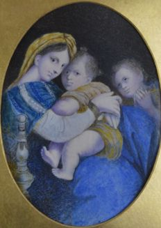 After Raphael (19th century) - Madonna della sedia