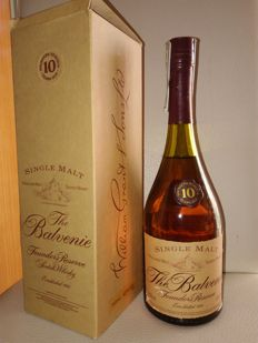 Balvenie founders reserve cognac bottle