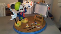 Disney, Walt - Large Figure/Photo Frame - Mickey Mouse as painter