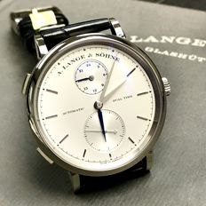 A.Lange & Sohne Saxonia Dual Time Men's watch