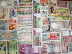 World - 500 different world banknotes