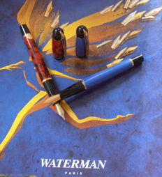Twice Waterman Phileas-fountain pen