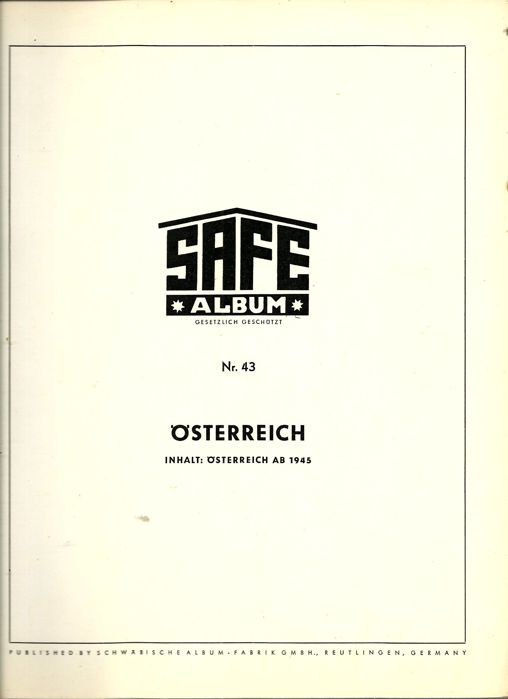 Austria from classic to modern - batch of stamps in album and stock books
