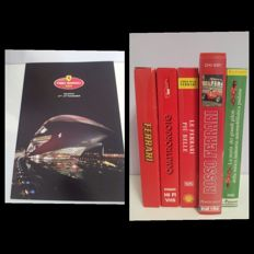 Ferrari 2009 Finali Mondiali Valencia brochure plus lot of 5 Ferrari videotapes