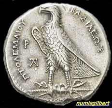 Greek Antiquity - Ptolemy I Soter, 305-283 BC. Tetradrachm
