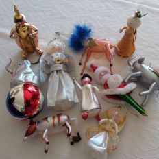 Christmas ornaments in extra fine blown glass - Italy