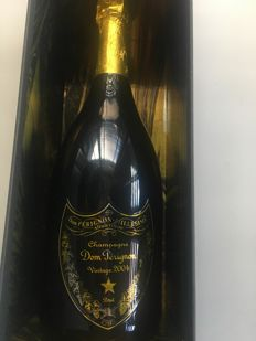 2004 Dom Perignon - Limited edition Jeff Koons - 1 bottle (75cl) in case