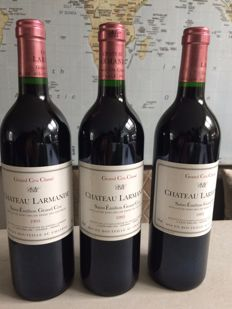 1993 Chateau Larmande, Saint-Emilion Grand Cru Classé - 3 bottles