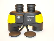Traveler Waterproof/Floating 7x50 396ft at 1000 yds / 132 at 1000m Grade with light and scale division