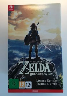 Nintendo switch Zelda Breath of the Wild, limited edition NEW