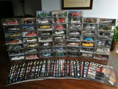 James Bond Car Collection - 51 Cars Scale 1:43 with magazines