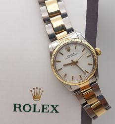 Rolex - Oyster Perpetual Ref. 6551 - GOLD (14 kt) - Year 1972 - Unisex - 1970-1979
