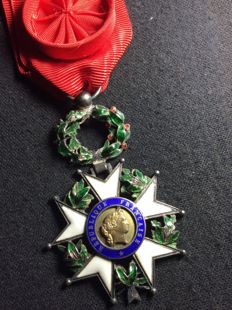 Officer's Cross of the Legion of honour - Luxury model with palm in relief