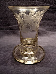Masonic Master glass c. 1770-1795