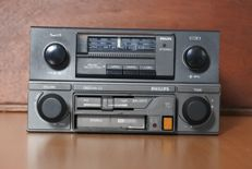 Philips Sprint 79DN189 classic car radio with FM - Stereo cassette player 060 MK3 - 1988