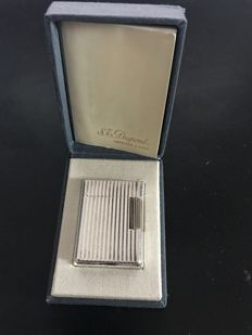 Dupont silver lighter, goldsmiths in Paris