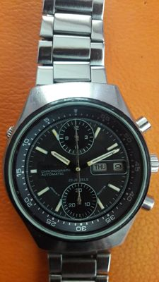 Citizen , 67-9119 rare vintage model,chronograph,flyback,cal.8110,1970s
