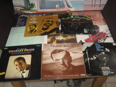 Big lot of 15 jazz/blues Albums,some very rare albums like: Stevie Wonder(one double lp and one singel lp) Benny Goodman box,etc,etc