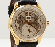 Louis Erard - 1931 GMT Skeleton Big Date 18K - 94215OR03 - Masculin - 2011-prezent