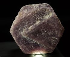 Large natural Ruby crystal with keepers on termination - 4,5 x 3,9 x 3,1 cm - 163 gr