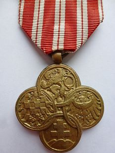Czechoslovakia, war cross 1914-1918