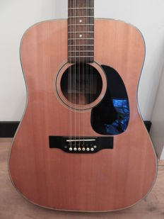 Sigma DM12-5 12-string acoustic guitar - 70's - Japan
