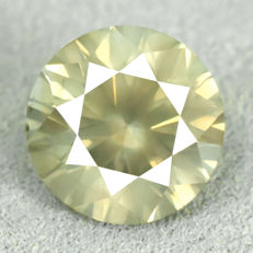Diamond - 2.02 ct Natural Fancy Greenish Yellow