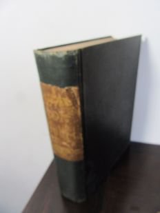 Antique Bible with 40 engravings - 1860