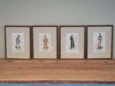 collection of old jockey prints