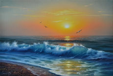 Sergei Stoev (1971) - Wave in the sun