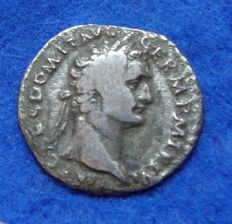 Roman Empire - Denarius of Domitianus (81–96 A.D.) struck in Rome, reverse Minerva (p719)
