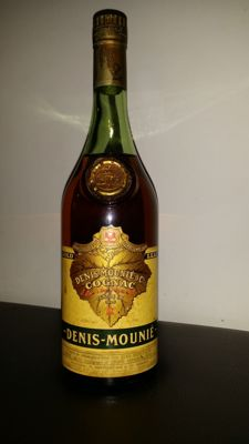 Cognac Denis Mounié gold leaf - 1960s bottling