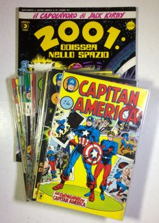 Capitan America - 15x issues, 1st and 2nd series - (1973-83) + 2001 Odissea nello Spazio (1977)
