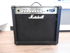Marshall MG30FX 1x10 guitar amplifier combo with effects and matching Marshall PEDL90008 Stompware footswitch