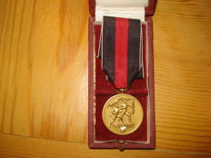 Medal with a box commemorating 1 October 1938 Sudetenland Medal