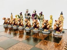 Fantasy chess of great size