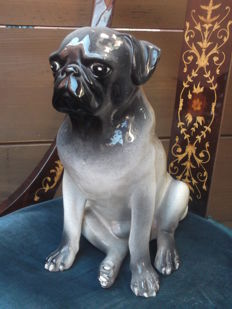 Vintage British Bulldog Dog Handmade.