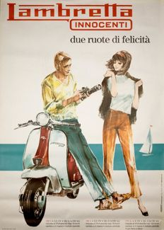 Anonymous - Lambretta Innocenti - 1963