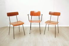 Gispen & Marko - three industrially designed chairs