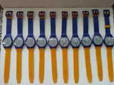 Set of 10 Toyota watches - Wristwatches