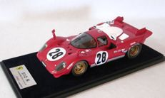 Look Smart - Scale 1/18 - Ferrari 521S #28 - 3rd 24Hours of Daytona - Driven by Jacky Ickx, Mario Andretti and Arturo Merzario