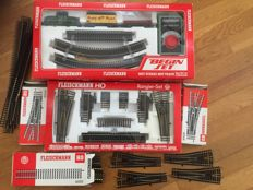 Fleischmann H0 - 6302/6044/6091/6001 - Starter set with various extensions