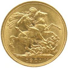 Australia - Sovereign  1901 M (Melbourne) - gold