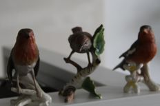 Goebel birds 3 pieces
