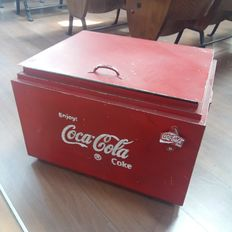 Coca Cola ice chest