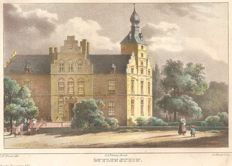 Utrecht and Holland - Four distinguished houses near Amerongen, Velzen, Loenen a/d Vecht and Muiden - (1846)