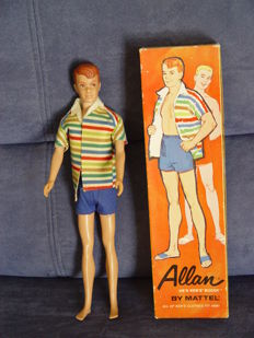 Barbie doll Allan - Mattel - Japan