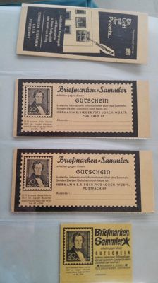 Germany 1960/1995 - stamp booklets